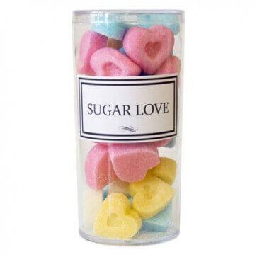 Фигурный сахар - сердечки- 250 мл